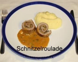 Schnitzelroulade - Rezept