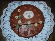 Sehr feine Schokoladecremetorte - Rezept
