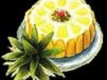 Ananas Charlotte - Rezept