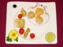 Jakobsmuscheln auf geschmorter Artischocke - Rezept