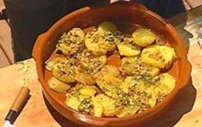 Marinierte Kartoffelscheiben - Rezept