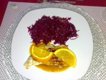 Hähnchen in Orangensauce - Rezept
