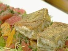 Marinierter Zander mit Zitrus-Ingwer-Salat - Rezept