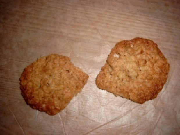 Haferflockenplätzchen - Rezept