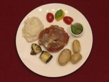 Seeteufel mit Selleriepüree und spanischen Kartoffeln (Vera Russwurm) - Rezept