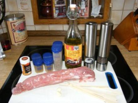 Maurische Fleischspieße - Rezept