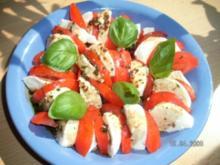 Tomaten- Mozarella- Salat - Rezept