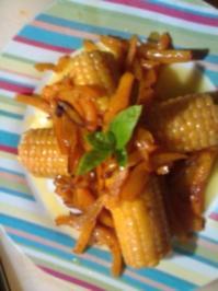 vegetarischer Herbst Teller (warm) - Rezept
