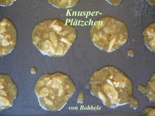Snack: Knusper-Plätzchen - Rezept
