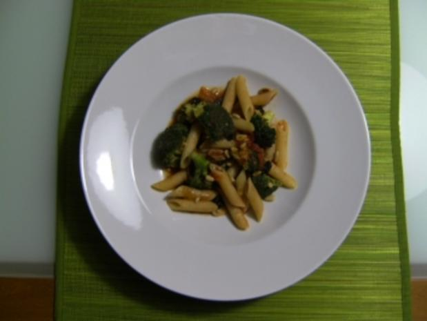 Brokkoli Nudel Pfannne - Rezept