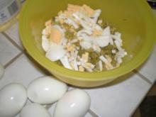 Eiersoße zum Fleischfondue - Rezept