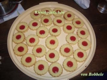 Rezept: Weihnachtsplätzchen: Kirschplätzchen