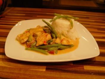Green Curry Chicken - Rezept