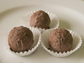 Haselnuss-Marzipankugeln - Rezept