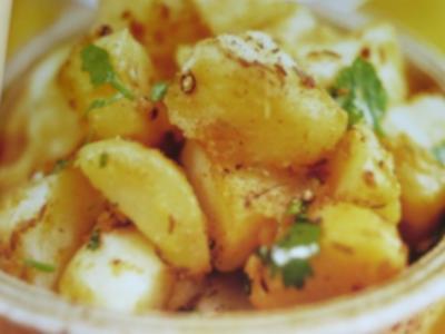 Bratkartoffeln Maharadscha - Rezept