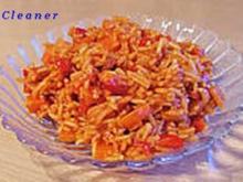 Original Djuvec - Paprika-Reis - Rezept