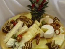 Kalte Platten : Käse - Platte - Rezept