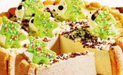 Rezept Tannenbaum.Tannenbaum Torte
