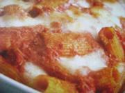 Tomaten und Mozzarella al Forno - Rezept