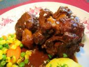 Ochsenschwanz geschmort - Rezept
