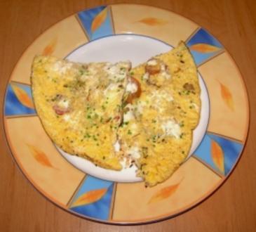 Eier-Tomaten-Pfanne - Rezept