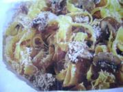 Fettuccine mit Pilzen - Rezept