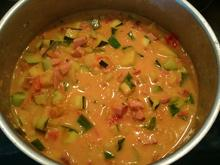 Tomaten-Zucchini-Sauce mit Wurst - Rezept - Bild Nr. 2