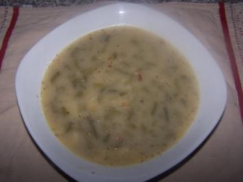 Grüne Bohnen Eintopf - Rezept