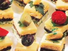 Pikante Käse Petits Fours - Rezept