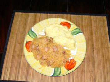 Sauerkraut - Kassler - Topf - Rezept