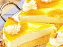 Orangen Käsesahne Torte - Rezept