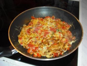 Paprika-Tomaten-Leckerli - Rezept