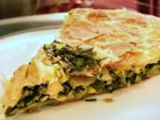 Börek mit Spinat-Feta-Füllung - Rezept
