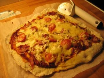 Rezept: Pizzateig Grundrezept