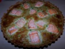 Gorgonzola-Lachs-Tarte - Rezept