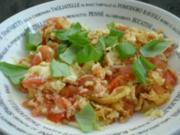 Tomaten - Rührei - Rezept