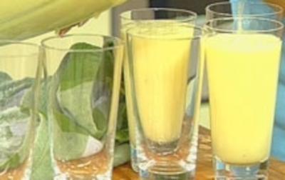 Rezept: Melonen-Bananen-Shake