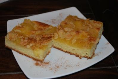 Apfel-Butterkuchen mit Zimt - Rezept