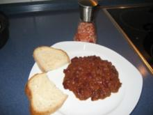 Coffee Chili - Rezept