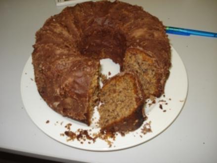 Schokoladen- Nusskuchen - Rezept