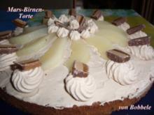Torten: Mars-Birnen-Torte - Rezept