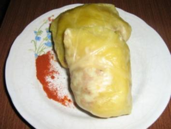 Sarma - serbische Kohlrouladen - Rezept