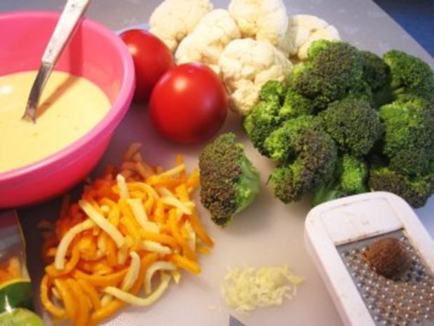 Gemüse überbacken ... - Rezept - Bild Nr. 2