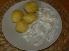 Sahnehering mit Pellkartoffel - Rezept