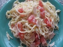 Spagettisalat - Rezept