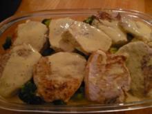 Kartoffel-Brokkoli-Schweinefilet-Auflauf - Rezept