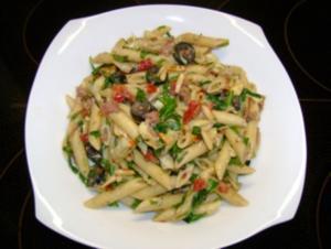 Pasta: Salat Toscana - Rezept