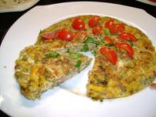 Antipasto:  Zucchini Frittata - Rezept