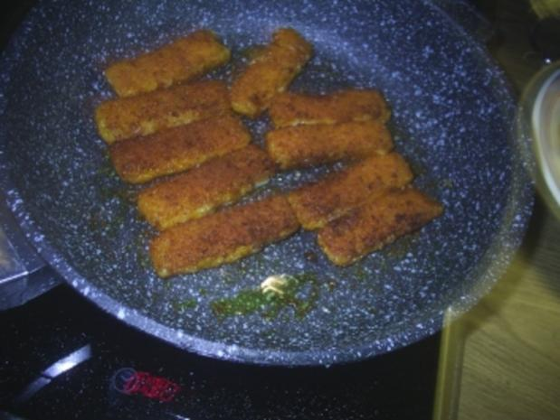 Fisch - Fischstäbchen-Pfanne - Rezept - Bild Nr. 3
