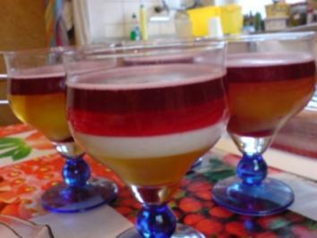 Pudding-Schicht-Dessert - Rezept